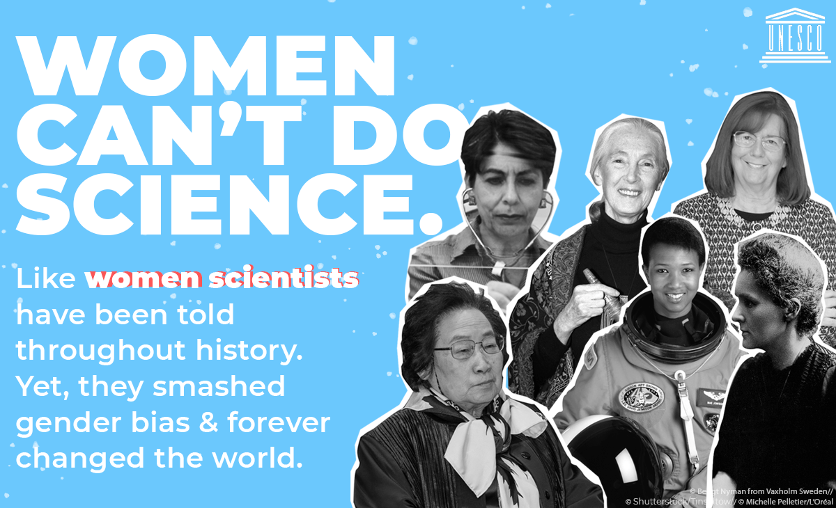 Women Can't do science